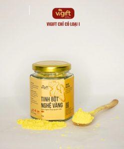 Combo tinh bột nghệ vàng và mật ong